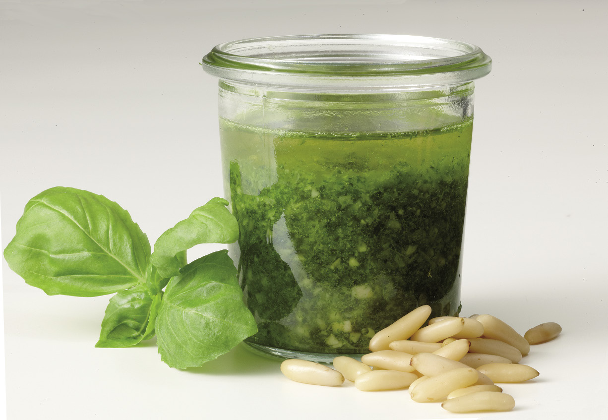 Pesto aus dem glas