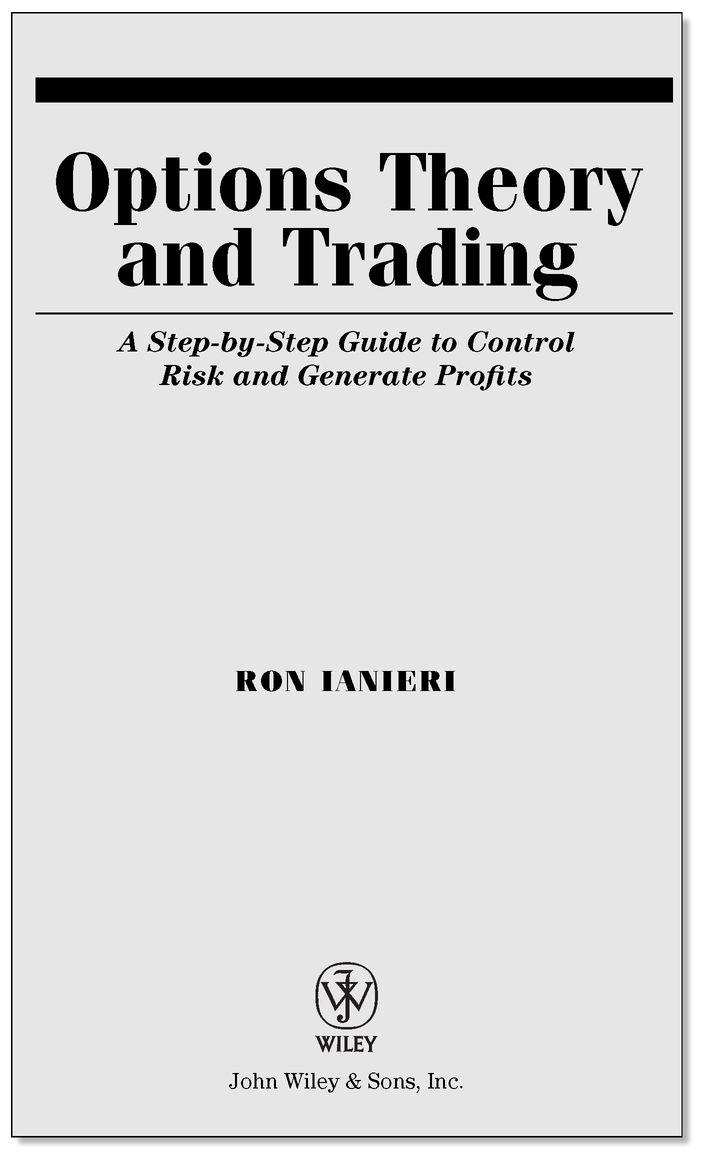 Option trading theory