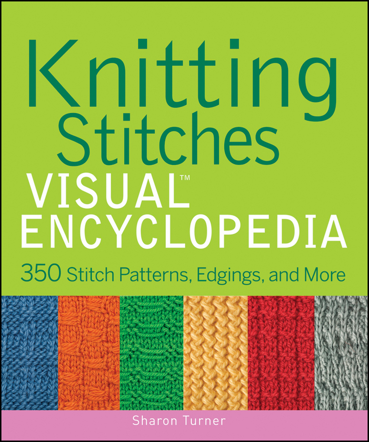 Download Knitting Stitches Visual Encyclopedia : Cover