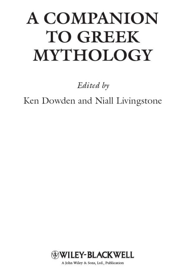 Pontus Greek Mythology