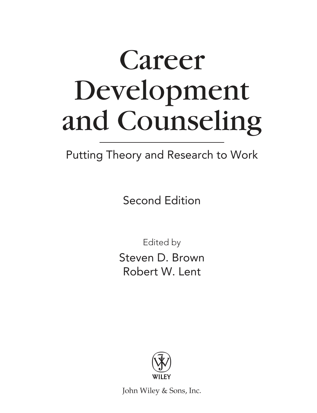 Adult counseling in linking practice theory transition