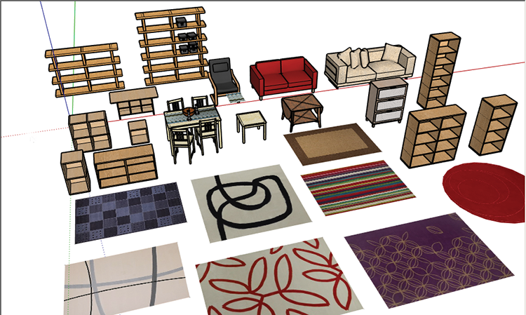 Cover for Modelli sketchup ikea