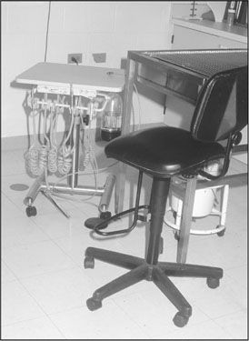Pedal Stool Sink : Ultrasonic scalers. The handpiece is operated by a foot pedal ...