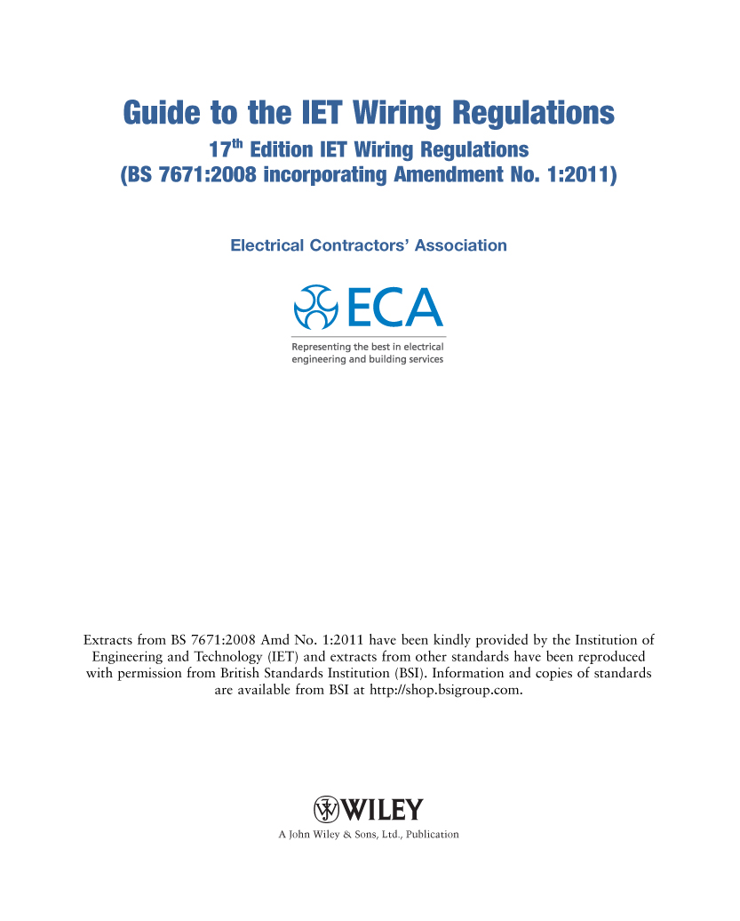 Iee wiring regulations 18th edition download.