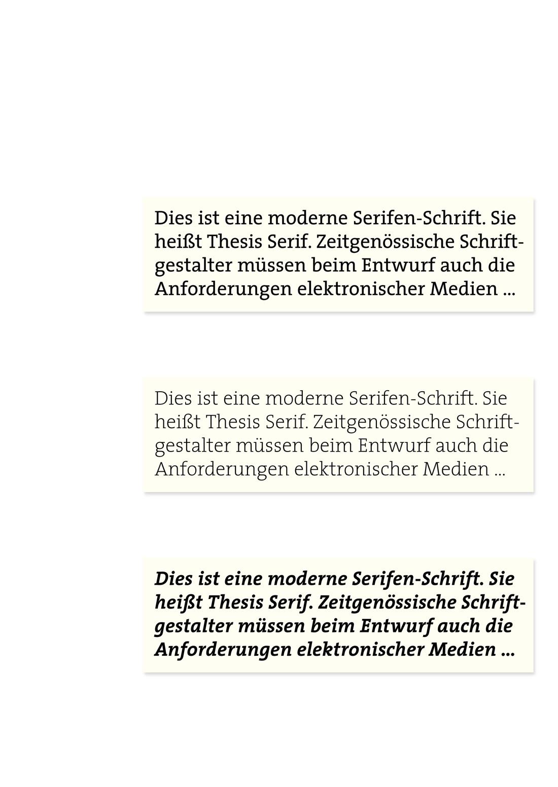 thesis serif bold