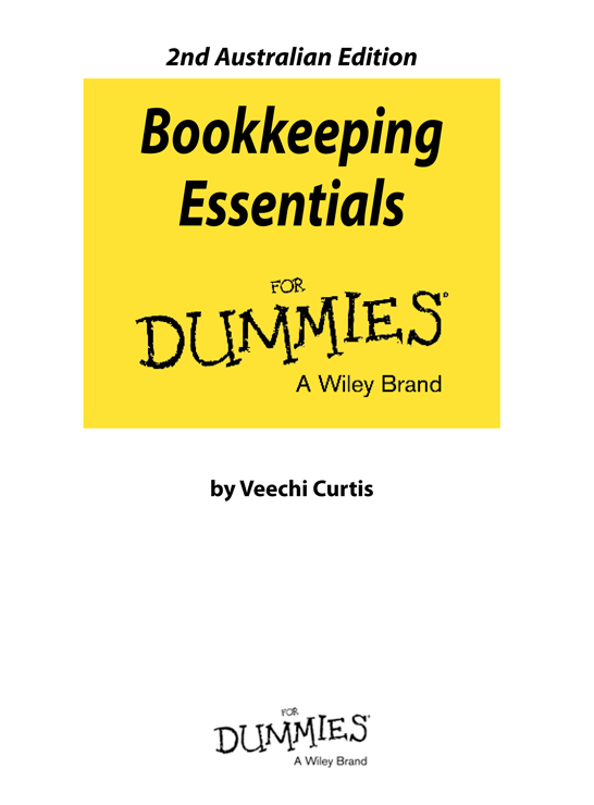 bookkeeping for dummies 2nd edition pdf